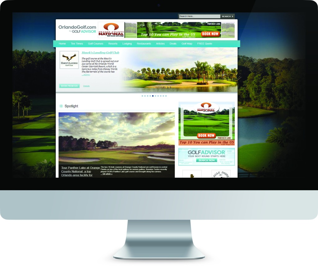 Golf Course Advertising and Digital