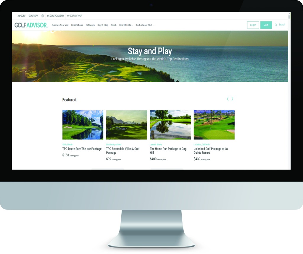 Golf Course Advertising and Travel Marketing