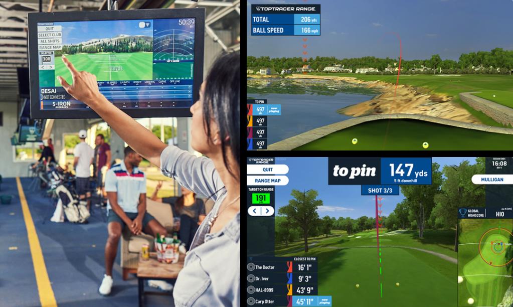 Toptracer Range Technology Through GolfNow